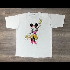 Vintage 80's Minnie Mouse Disney Land Sleep Wear
